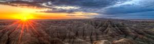 badlands_sunset