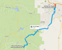 Mount Rushmore Route